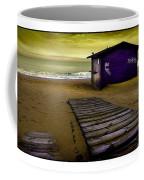 Spanish Beach Hut Coffee Mug
