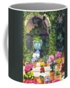 Spanish Courtyard Coffee Mug