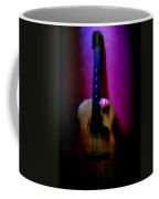 Spanish Guitar And Pink Rose Coffee Mug