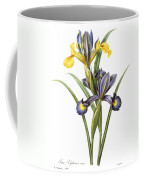 Spanish Iris Coffee Mug