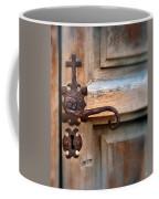 Spanish Mission Door Handle Coffee Mug by Jill Battaglia