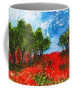 Spanish Poppies Coffee Mug