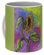 Spanish Sunflower Coffee Mug