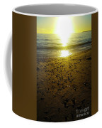 Sparkly Beach Sunset   Coffee Mug