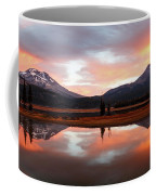 Sparks Lake Sunrise Coffee Mug