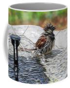 Sparrow Bath Time 9242 Coffee Mug