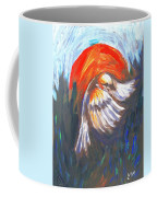 Sparrow In Flight Two Coffee Mug