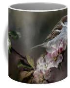 Sparrow In The Garden Coffee Mug