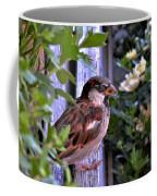 Sparrow In The Shrubs Coffee Mug