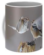 Sparrows Fight Coffee Mug