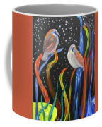 Sparrows Inspired By Chihuly Coffee Mug