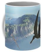 Species From The Genus Anhanguera Soar Coffee Mug