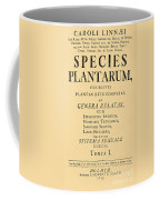 Species Plantarum, Linnaeus, 1753 Coffee Mug