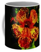 Speckled Petunia Coffee Mug