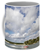 Speedy Red Boat Coffee Mug