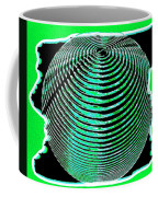 Sphere In Green Coffee Mug