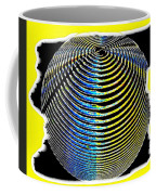 Sphere In Yellow Coffee Mug
