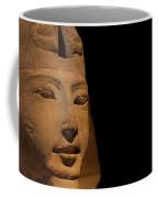 Sphinx On Black Coffee Mug