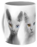 Sphynx And Main Coon Paint No 01 Coffee Mug