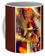 Spider And Spider Web Coffee Mug