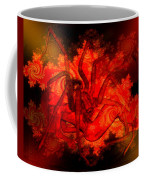 Spider Catches Virgin In Space Coffee Mug