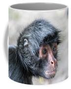 Spider Monkey Face Closeup Coffee Mug