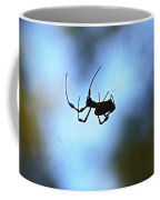 Spider Silhouette Coffee Mug