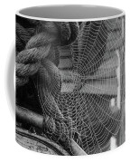 Spider Web Morning  Coffee Mug