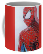 Spiderman Illustration Art Coffee Mug