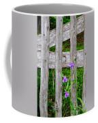 Spiderworts By The Gate Coffee Mug