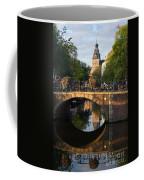 Spiegelgracht Canal In Amsterdam. Netherlands. Europe Coffee Mug