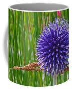 Spiky Blue Coffee Mug