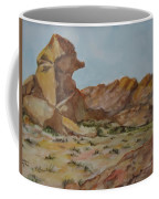 Spinx In The Valley Of Fire Coffee Mug