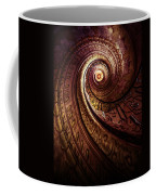 Spiral Staircase In An Old Abby Coffee Mug