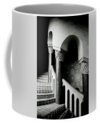 Spiral Stairs- Black And White Photo By Linda Woods Coffee Mug