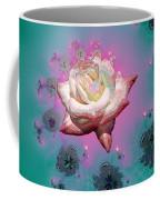 Spiral To A Rose Fractal 140 Coffee Mug