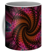 Spiraling Into The Abyss Coffee Mug