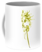 Ghostly Smoke - Yellow Coffee Mug