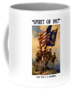 Spirit Of 1917 - Join The Us Marines  Coffee Mug