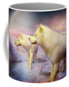 Spirit Of The White Wolf Coffee Mug