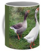 Spirited Geese Coffee Mug