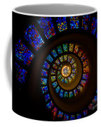 Spiritual Spiral Coffee Mug by Inge Johnsson