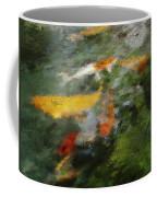 Splash Of Koi Coffee Mug