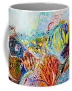 Splash Of Life #14 Red Sea  Coffee Mug