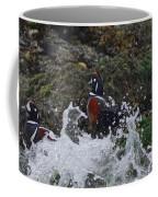 Splashed At Haystack Rock Coffee Mug