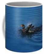 Splashing Cormorant Coffee Mug