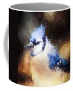 Splatter Art - Blue Jay Coffee Mug