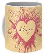 Splattered Love Coffee Mug