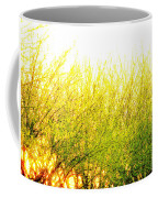 Yellow Splatter Coffee Mug