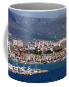 Split Croatia's Waterfront Coffee Mug